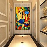 SPLLEADER Picasso Famoso Superventas Moderno Puro Pintado a Mano Lienzo Pintura Cuadros de Pared for decoración del hogar Pintura al óleo Figura Trabajo (Size (Inch) : 70x100cm)