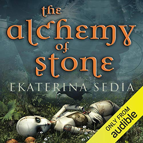 The Alchemy of Stone audiobook cover art