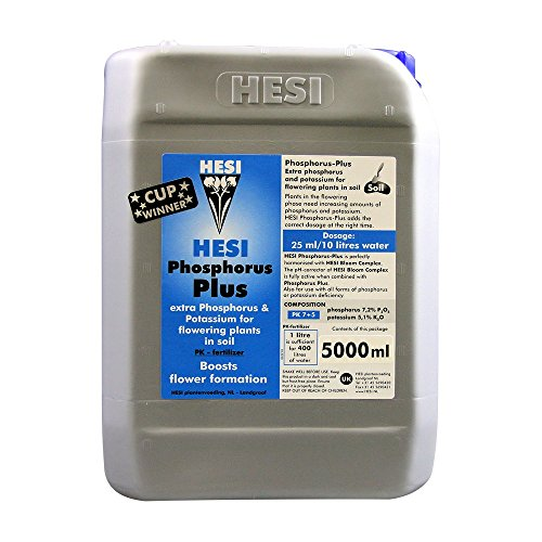 Abono / Fertilizante de HESI Fósforo Plus para Cultivo (5L)