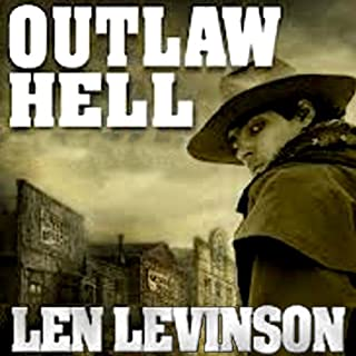 Outlaw Hell audiobook cover art