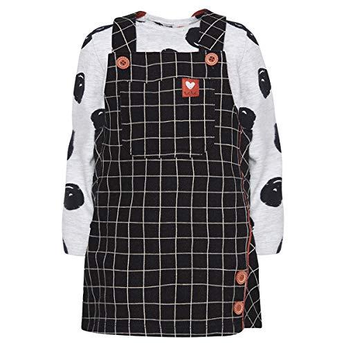 Tuc Tuc Pichi Vaquero+Camiseta Punto NIÑA Conjunto de Ropa, Negro (Negro 30),...