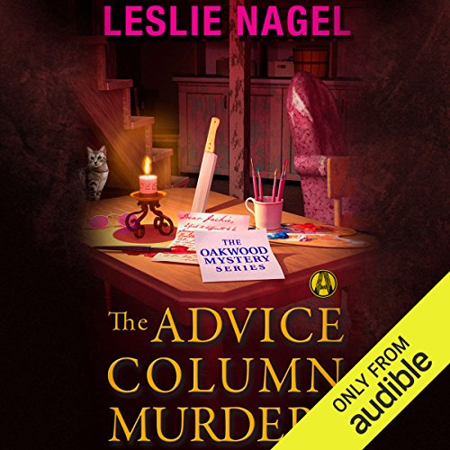 The Advice Column Murders audiobook cover art