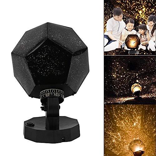Romantische nachtlampprojector sterrenhemel projectie kosmisch nachtlampje kinderkamer decoratie verlichting gadget