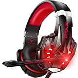 BENGOO Stereo Pro Gaming Headset for PS4, PC, Xbox One Controller, Noise...