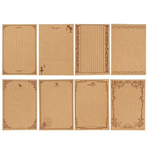 レターセット 80枚 お礼状 便箋 アンティーク レターセット おしゃれ かわいい 結婚 メッセージカード 手紙 シンプル レトロ 美しい