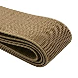 iCraft 1.5-Inch Wide Colored Double-Side Twill Woven Elastic,2 Yards,Khaki 32140