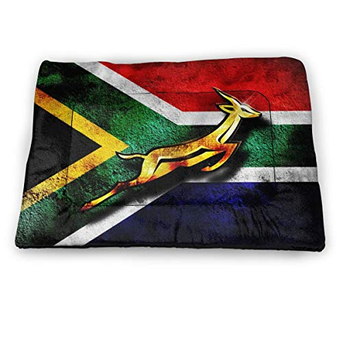 Price comparison product image South Africa Flag African Emblem Springbok Dog Cat Bed Pad Soft Comfortable Crate Mat Pet Mattress for Sleeping Dogs and Cats Kennel Pad with Non-Slip Bottom Machine Washable