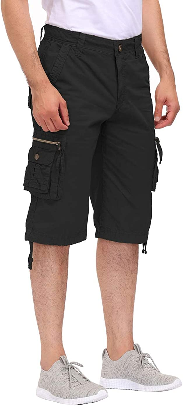 DOBOLY Men's Cargo Shorts with Zipper S Relaxed Work Pockets Fit 2021 autumn and winter new Ranking TOP16