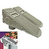 The Gutter Guard - Wedge Eliminates Downspout Pipe Clogs From Leaves and Debris - 2-Pack
