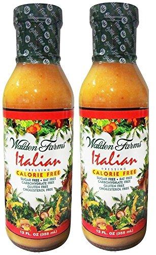 Walden Farms Italian Salad Dressing - 12oz (Pack of 2)
