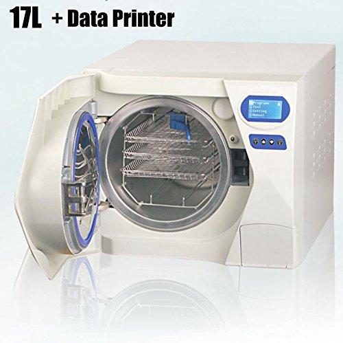 Zgood 17L dentaire autoclave stérilisateur Medical stérilisation Aspirateur Vapeur + données d'imprimante