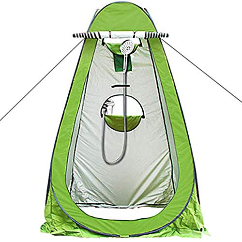 FSJD Carpa portátil para Inodoro emergente instantáneo, Carpa de privacidad para Ducha portátil, Vestuario para vestirse al Aire Libre, Refugio contra la Lluvia para Campamento y Playa