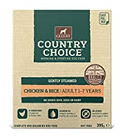 For the taste of gently steamed wet food in a disposable bowl, our trays are available. Gelert Country Choice Tray Chicken & Rice Wet Dog Food 10 x 395g Gelert Country Choice Tray Chicken & Rice Wet Dog Food 10 x 395g Suitable for guinea pigs