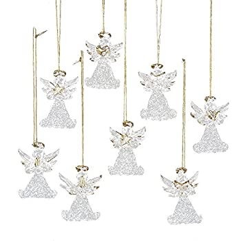 Best glass angel ornaments Reviews