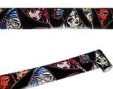 alles-meine.de GmbH Wandbordüre - selbstklebend -  Monster High  - 5 m - Wandsticker / Wandtattoo - Bordüre Aufkleber Kinderzimmer - für Kinder Mädchen - Frankie Stein - Clawde..
