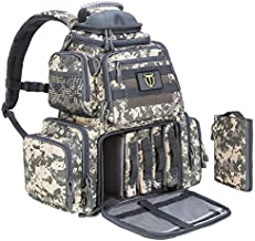TIDEWE Tactical Range Backpack Bag for Gun and Ammo with Pistol Case (Camo)