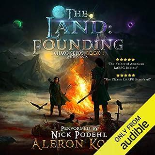 The Land: Founding: A LitRPG Saga cover art