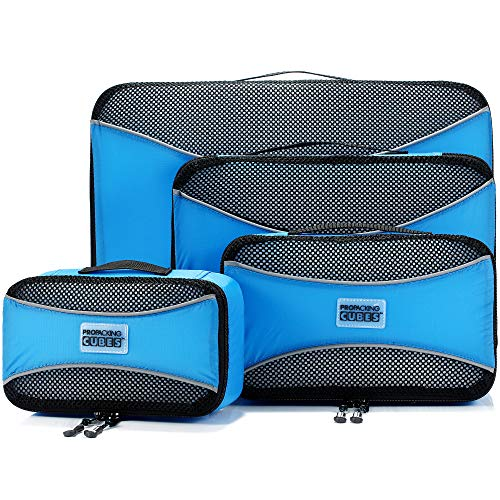 PRO Packing Cubes Lightweight Travel - Packing for Carry-on Luggage