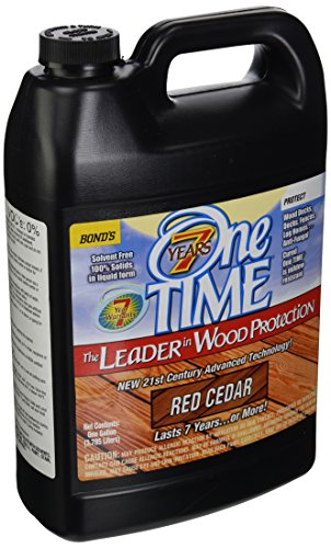 BOND DISTRIBUTING LTD 00300 00300 Gallon Redwood Stain/Sealer, 4 g