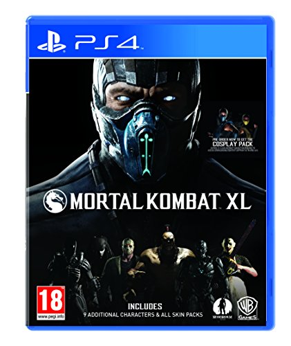 Mortal Kombat XL [AT-PEGI] - PlayStation 4 [Importación alemana]