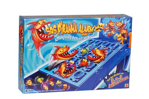 Mattel K3659-0 - S.O.S. Piranha Alarm