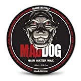 Cere e gel per capelli Mad Dog. 100% Made in Italy (Cera Tenuta Estrema)
