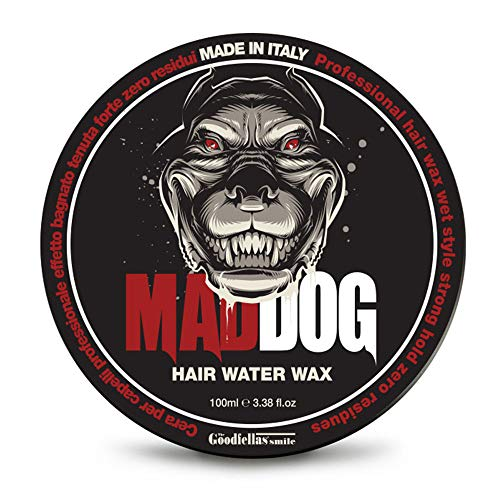 Mad Dog Cera per Capelli Professionale, 100ml