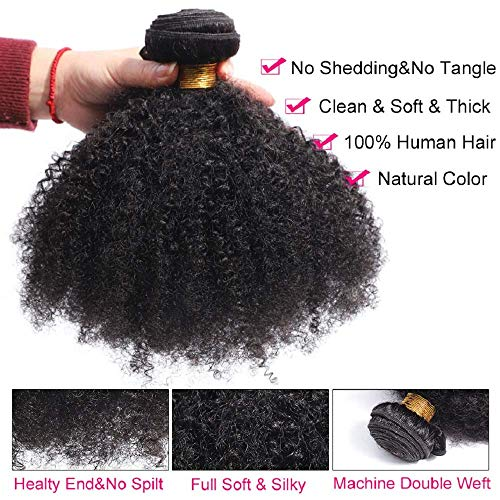 Afro curly hair weave _image0