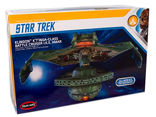 Polar Lights Star Trek Klingon K't'inga 1:350...