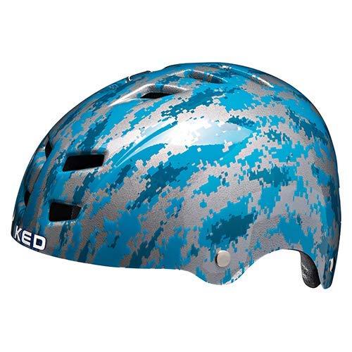 Casco de bicicleta K-E-D Control/K-Star en la talla S (circunferencia de la cabeza 49-53 cm) – Casco todoterreno con tecnología maxSHELL