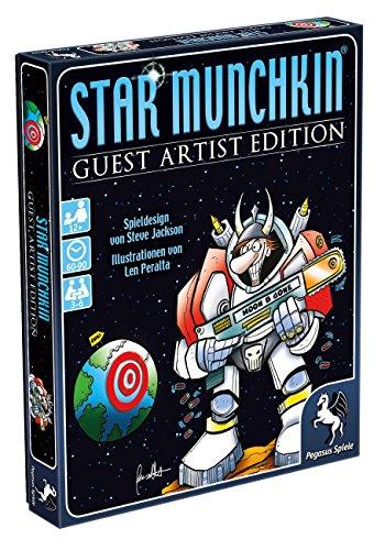 Pegasus Spiele 17232G - Star Munchkin Guest Artist Edition, Peralta-Version