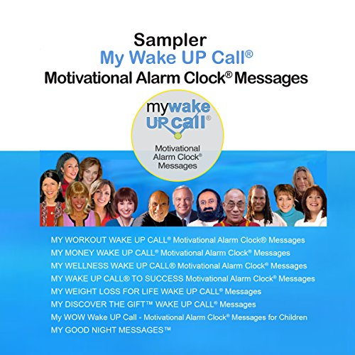 My Wake UP Call (R) Motivational Alarm Clock (R) Messages and My Good Night Messages (TM) audiobook cover art