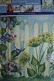 Donna Dewberry 'Picket Fence' Quilt Square; 18 1/2 Square Design Area
