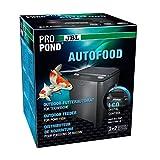JBL Propond Autofoood Distributeur Automatique de Nourriture pour carpes koï et Autres Poissons de Bassin Résistant aux intempéries Solaire 37,5 x 37,5 x 46,2 cm