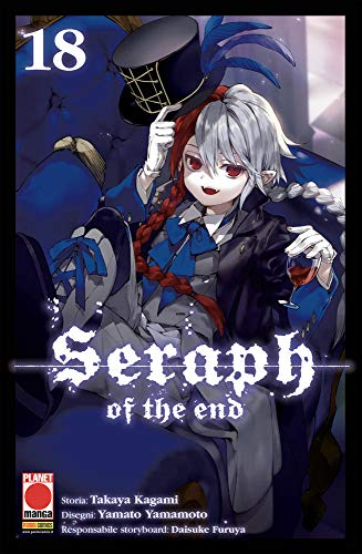 Seraph of the End N° 18 - Ristampa - Planet Manga - Panini Comics - ITALIANO