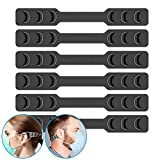 FCXJTU Mask Strap Extender Ear Savers for Masks Adjustable Extender Strap Ear Protector Mask Hook Holder Clip for Relieving Ears' Pressure&Pain for Kids, Teens and Adults (6Pcs)
