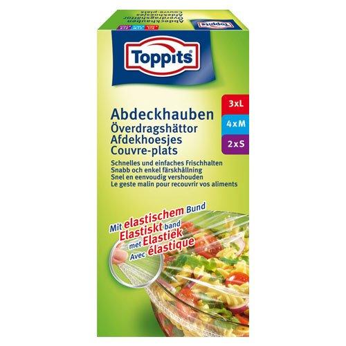TOPPITS Abdeckhauben mit elastischem Bund