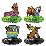 4 Party Centerpieces for Scooby Doo Party Supplies Theme Birthday...