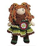 Antro de los Encantos Muñeca Amigurumi Ellie Crochet Handmade Doll...