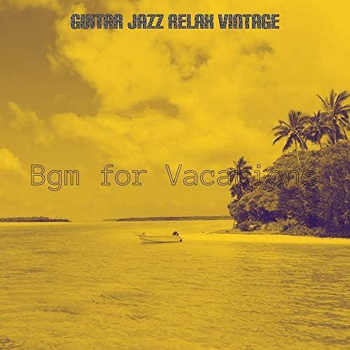 Guitar Jazz Relax Vintage
