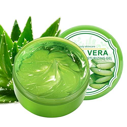 Gel di Aloe Vera - Crema idratante idratante all aloe vera Gel Crema per la cura della pelle senza pelle a riposo 300 g