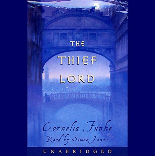 The Thief Lord                   By:                                                                                                                                 Cornelia Funke                               Narrated by:                                                                                                                                 Simon Jones                      Length: 8 hrs and 30 mins     696 ratings     Overall 4.2