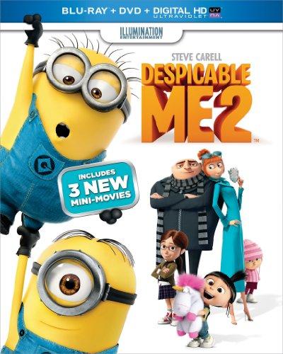 Despicable Me 2 - Blu-ray + DVD + Digital