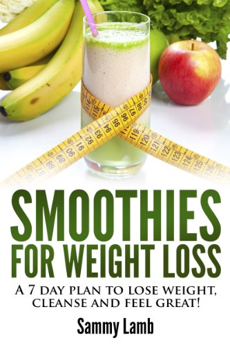 7 day smoothie weight loss diet results