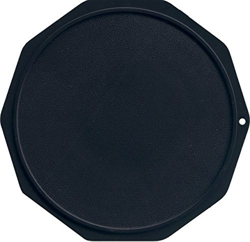 Motorcycle Kickstand Pad. Large. Fits Any Size Kickstand (Black)