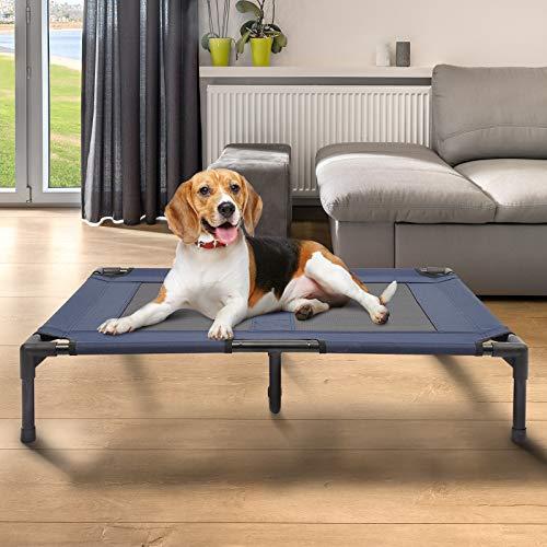 Cama para Mascotas Perros Gatos Plegable Portatil Camping al Aire Libre Impermeable