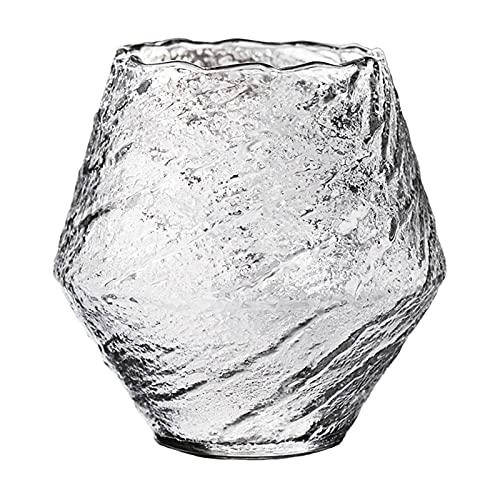Plicement Vasos De Whisky Whirlwind Cristalería De Cóctel De Cristal Premium Vasos De Degustación De Vidrio De Moda Antigua para Beber Winebowl