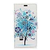 BRAND SET Hülle für HTC Desire 12s Premium Brieftasche