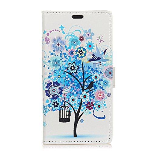 BRAND SET Hülle für HTC Desire 12s Premium Brieftasche Handyhülle Kunstleder Flip Hülle mit sicherer Magnetverschlussverriegelung & Stent-Funktion Handyhülle für HTC Desire 12s (No:4)