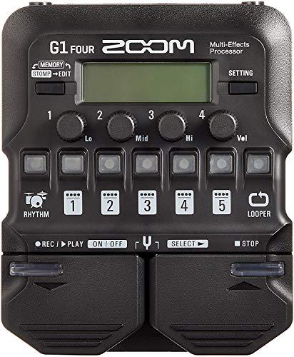 ZOOM ズーム マルチエフェクター マルチエフェクツプロセッサー G1 FOUR